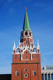 克里姆林宫莫斯科 彩色照片 库存照片