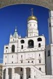 克里姆林宫莫斯科 科教文组织世界遗产站点 响铃极大的ivan塔 免版税库存照片