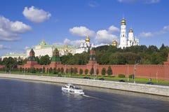 克里姆林宫莫斯科 免版税图库摄影