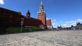 克里姆林宫,莫斯科,俄罗斯斯帕斯基塔  影视素材