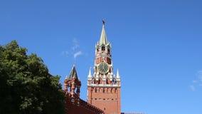 克里姆林宫,莫斯科,俄罗斯斯帕斯基塔  股票视频