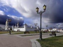 克里姆林宫 城市Tobolsk 俄国 库存照片