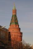 克里姆林宫2的塔 免版税库存照片