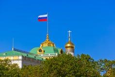 克里姆林宫-莫斯科俄罗斯 免版税库存图片