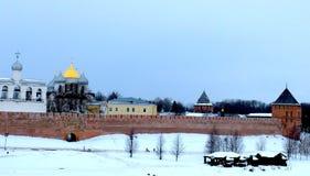 克里姆林宫novgorod 免版税图库摄影