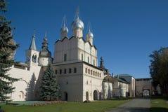 克里姆林宫rostov veliky的俄国 库存照片