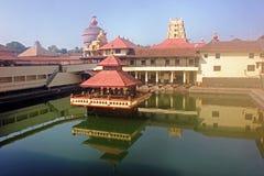 克里希纳寺庙,乌杜皮,卡纳塔克邦,印度 免版税图库摄影