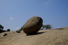 克里希纳岩石 库存照片