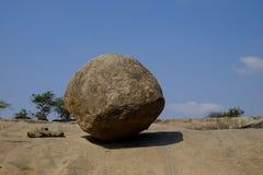 克里希纳岩石 免版税库存图片