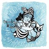 克里希纳Gopalpriya Paramatma 免版税库存照片