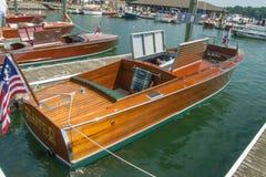 1926年克里斯工艺轻便汽艇 免版税库存照片