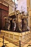 克里斯托弗・哥伦布坟墓 免版税库存照片
