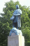 克里斯托弗・哥伦布雕象 库存图片