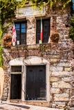克里斯托弗・哥伦布,热那亚-住处二Cristoforo科伦坡,赫诺瓦,意大利,欧洲房子  免版税库存图片