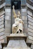 ・克里斯托弗哥伦布纪念碑 免版税库存照片