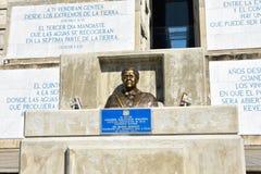 克里斯托弗・哥伦布灯塔外视图在蓝天的 圣多明哥,多米尼加共和国西部区域  免版税库存照片
