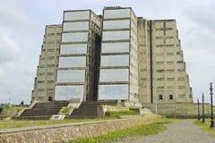 克里斯托弗・哥伦布灯塔的外部在圣多明哥,多米尼加共和国 库存照片