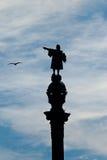 克里斯托弗・哥伦布雕象  库存照片