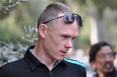 克里斯托弗Froome,环法自行车赛2013年 图库摄影