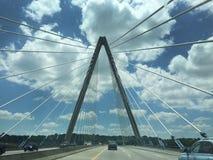 克里斯托弗S 政券桥梁在堪萨斯城,密苏里 库存图片