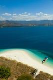 克里斯特尔清除水lagoone 17个海岛里翁弗洛勒斯印度尼西亚 库存照片