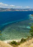 克里斯特尔清除水lagoone 17个海岛里翁弗洛勒斯印度尼西亚 库存图片