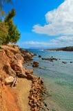 克里特岛峭壁 库存照片