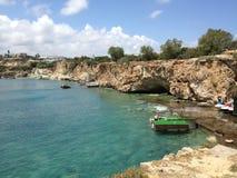克里特岛海 库存图片