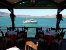 克里特岛餐馆2 库存图片