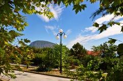 克里米亚半岛山 免版税库存照片