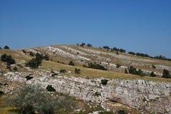 克里米亚半岛山 库存照片