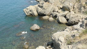克里米亚半岛岩石 库存照片