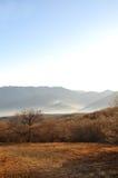 克里米亚半岛横向山 免版税库存图片