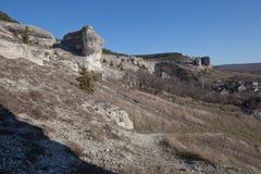 克里米亚半岛横向 免版税库存照片