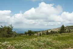 克里米亚半岛横向 图库摄影