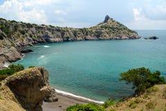 克里米亚半岛的海岸 免版税库存照片