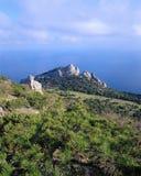 克里米亚半岛的海岸 免版税图库摄影