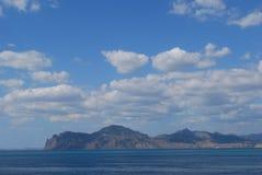 克里米亚半岛看法 免版税库存照片
