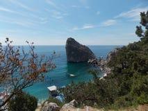 克里米亚半岛自然 免版税库存照片