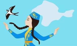 克里米亚半岛鞑靼人的驱逐出境的概念 免版税库存图片