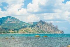 克里米亚半岛风景- Fox海湾 免版税图库摄影