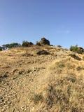 克里米亚山 库存照片