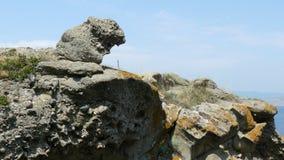 克里米亚岩石2 免版税库存图片