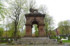 克里米亚战争纪念碑,哈利法克斯,新斯科舍,加拿大 免版税库存图片