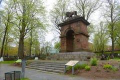 克里米亚战争纪念碑,哈利法克斯,新斯科舍,加拿大 免版税图库摄影