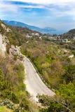 克里米亚海岸线 图库摄影
