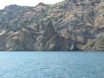 克里米亚的南部的海岸 库存照片