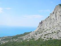克里米亚的山 库存图片
