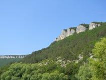 克里米亚的山 免版税库存照片