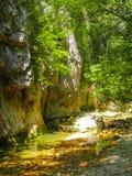 克里米亚的峡谷 库存图片
